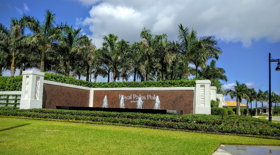 The Villa Lago at Royal Palm Polo
